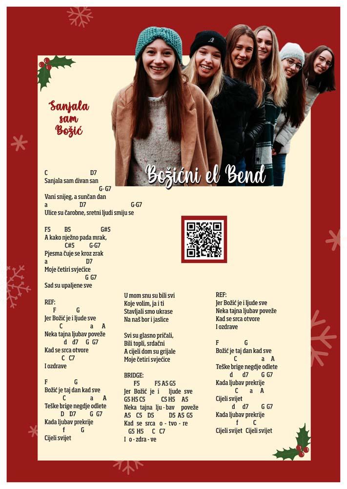 Bozicni el bend poster_print_A3