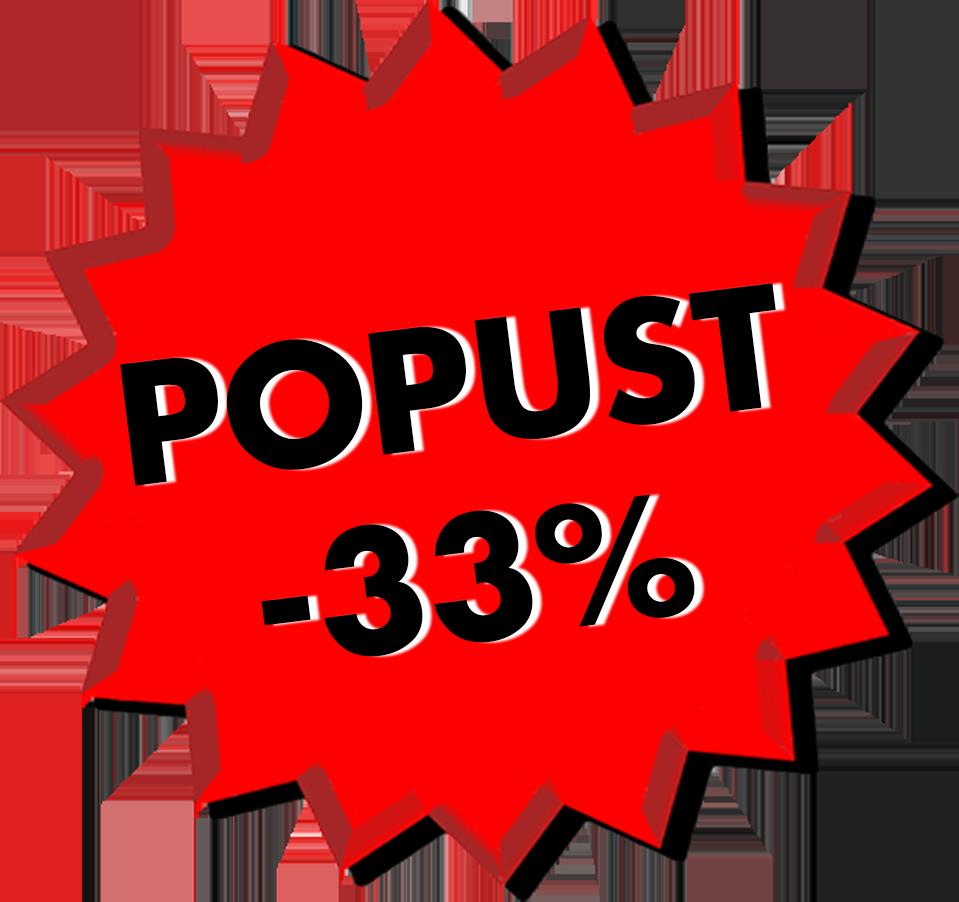 POPUST -33%