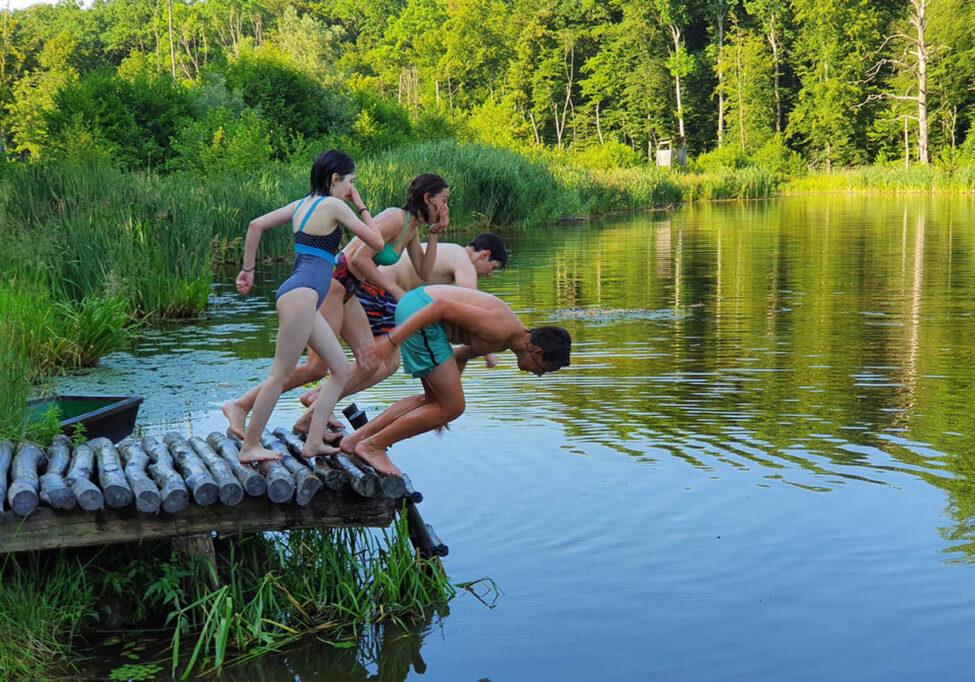 Kupanje na jezeru