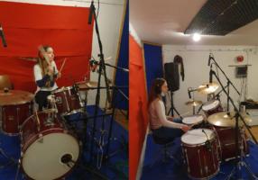 Sara i patricija bubnjevi